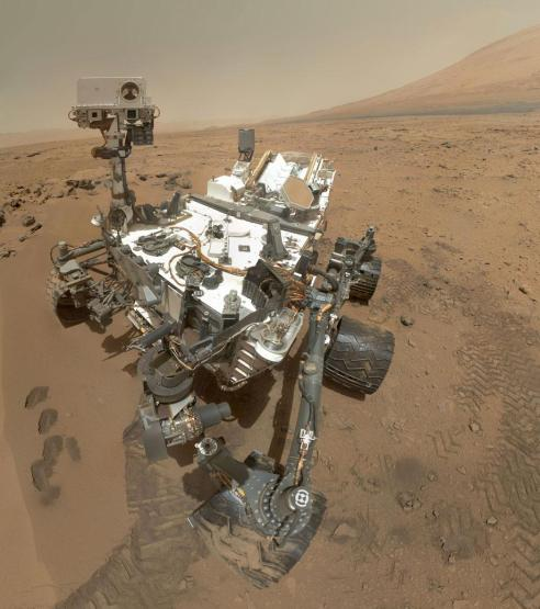 Self-Portrait of Curiosity Mars rover. NASA/JPL-Caltech/Malin Space Science Systems