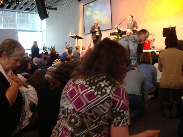 Tom Jones ministering at Speyer
