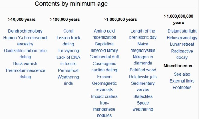RationalWiki Evidence Old Earth