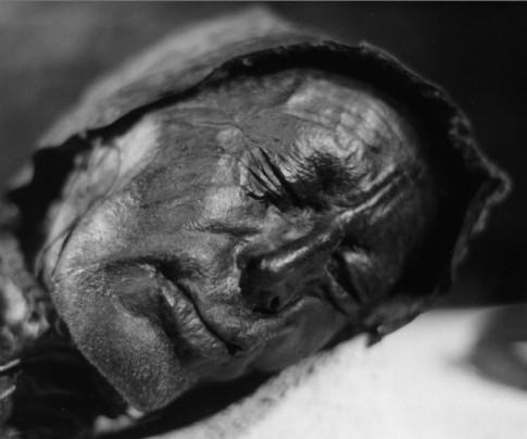 """Tollund bog-man. Source: Wikipedia, """"Tollund Man"""""""