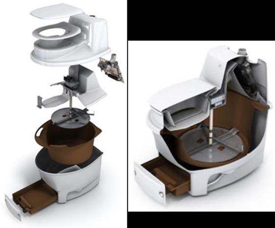 Innards of Biolet composting toilet. http://www.biolet.com/resources/id/How-Composting-Toilets-work