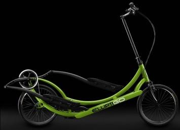Elliptigo Bike   http://www.elliptigo.com/ElliptiGO-3C