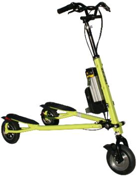 36V Lite Trikke Pon-e Electric Scooter http://www.trikke.com/product/trikke-ev-36v-lite/
