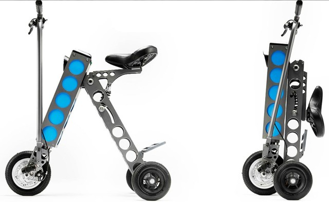 Urb-E Folding Electric Scooter http://muted.com/urb-e-scooters/