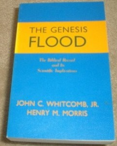 Early edition of The Genesis Flood, as offered on www.amazon.com.