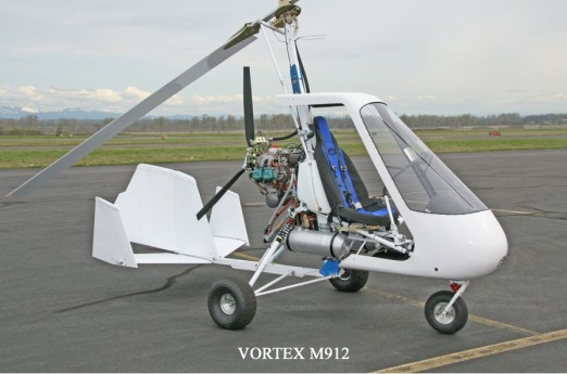 Sportcopter Vortex M912 . http://sportcopter.com/Gyroplanes/VortexM912/tabid/135/Default.aspx